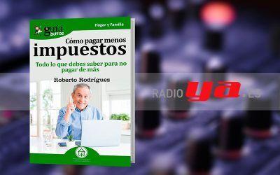 Roberto Rodríguez con su «GuíaBurros: Cómo pagar menos impuestos» en «Colaborum»